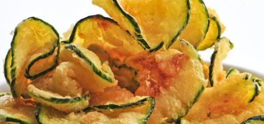 chips zucchine con peperoncino calabrese