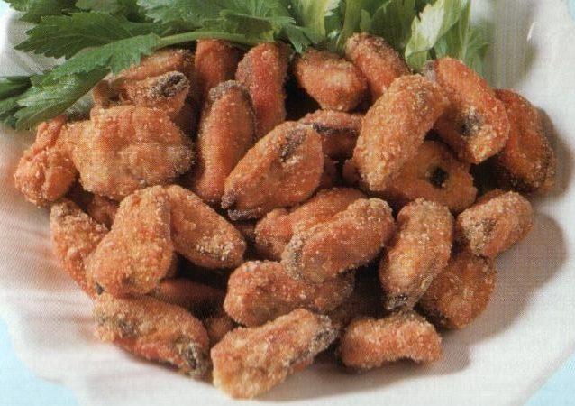 fritto di cozze di scardovari