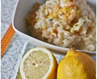 risotto scampi e limone di sorrento