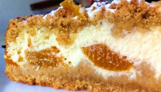 torta fresca pesche e mascarpone