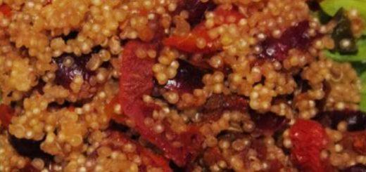 quinoa olive di gaeta