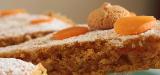 torta di carote e amaretti di saronno