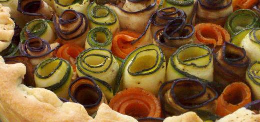 torta di rose salata con senape di digione