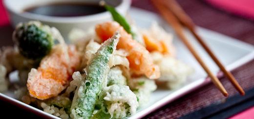 tempura giapponese di verdura