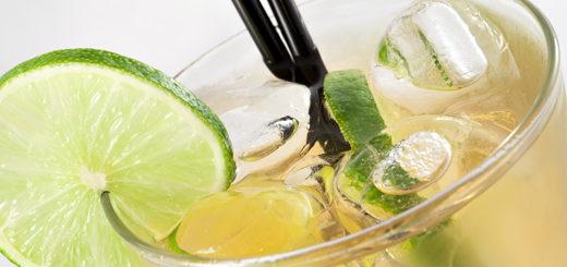 vodka te verde e lime