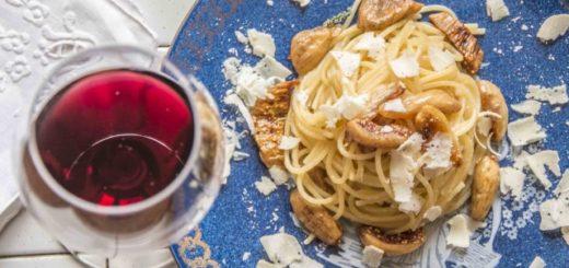spaghetti con fico bianco del cilento dop