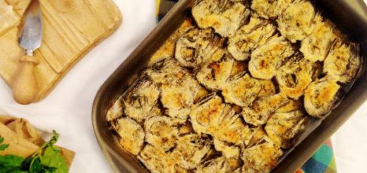 carciofi romaneschi del lazio igp al forno