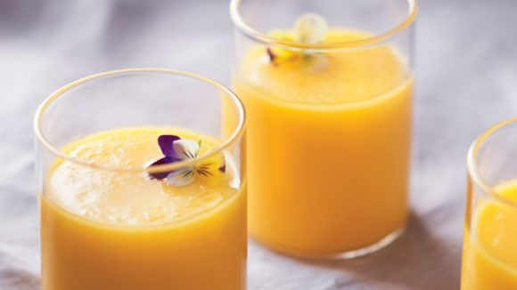 Gazpacho di mango e tabasco