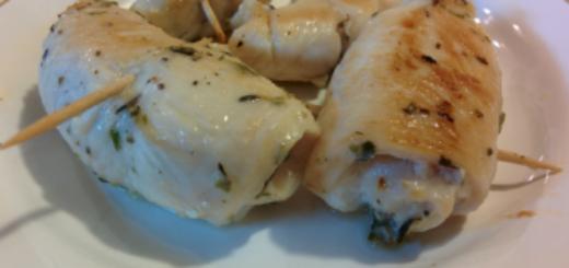 involtini di pollo con pancetta e scamorza di bufala dop