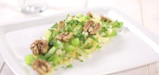 insalata di sedano bianco di sperlonga igp