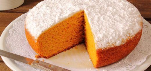 torta di carote e arancia rossa di sicilia igp