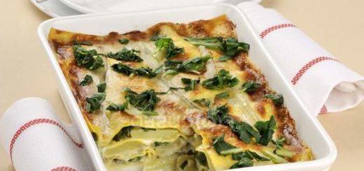 pasta al forno con bietole e besciamella light